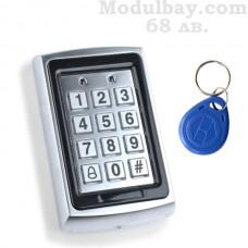 Метална вандалоустойчива клавиатура за контрол на достъпа