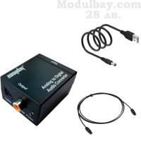 Оптичен аудио конвертор-Аналогов към цифров