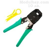 Клещи за кримпване на кабели с RJ45 и RG11