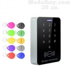 Клавиатура за контрол на достъпа с 10бр. RFID