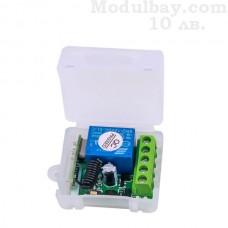 Релеен приемник 12V 433 Mhz