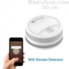Пожарен датчик за дим с интернет известяване