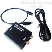 Оптичен цифров към аналогов аудио конвертор