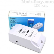 Управление на уреди през интернет-Sonoff Pow