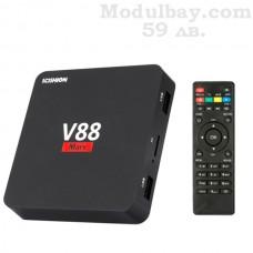 TV BOX V88 Mars(1GB RAM/8 GB ROM) с дистанционно управление