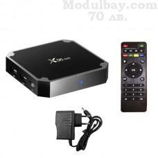 TVBOX X96 (1GB RAM/8GB ROM) с дистанционно управление