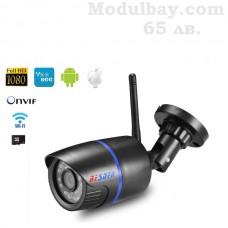 Безжична WiFi IP камера за външен монтаж и нощно гледане и запис