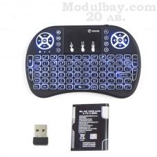 Безжична клавиатура за TV BOX с LiOn батерия и подсветка