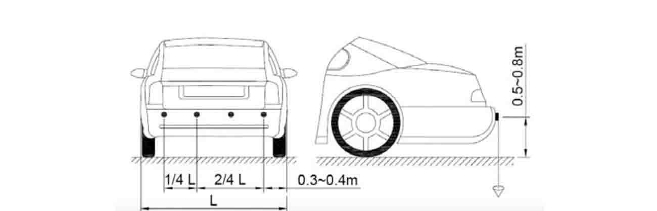 Упътване за монтаж на парктроник